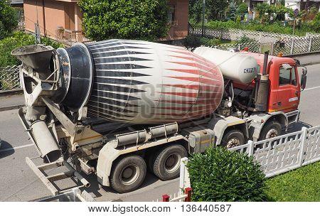 Concrete Mixer Aka Cement Mixer