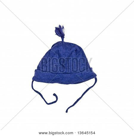 Blue Cap For The Newborn