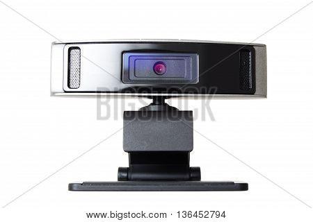 Web Camera, Webcam Isolated On White Background