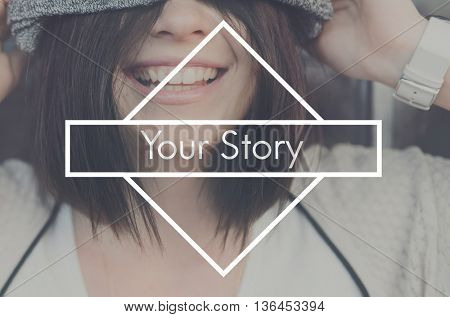 Your Story Drama Author Plot Poetry Narrative Concept