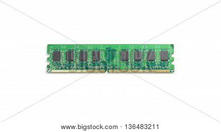 Stick of computer random access memory (RAM)