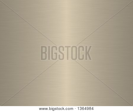 Brushed Metal Texture Background Linear Beige
