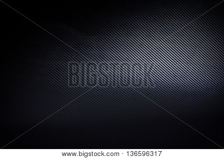 Dark and black carbon fiber background texture