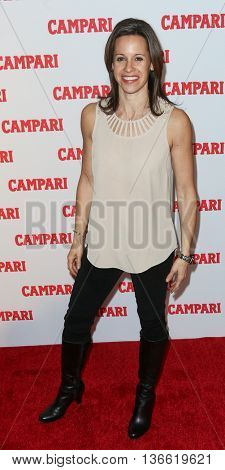 NEW YORK-NOV 18: Journalist Jenna Wolfe attends the 2016 Campari Calendar Launch Event at The Standard Hotel on November 18, 2015 in New York City.
