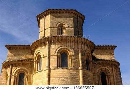 Apse of the San Martin of Tours church, Fromista, Palencia Spain