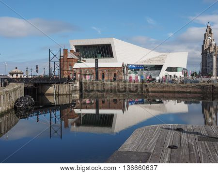Museum Of Liverpool In Liverpool