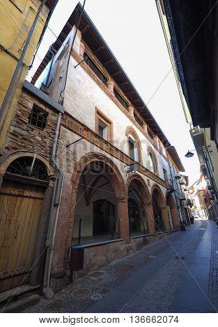 Historical City Centre In Rivoli