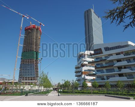 Citylife Milano Residential Complex In Milan