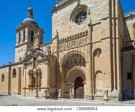 Santa Maria Cathedral. Ciudad Rodrigo, Salamanca, Castilla Y Leon. Spain.