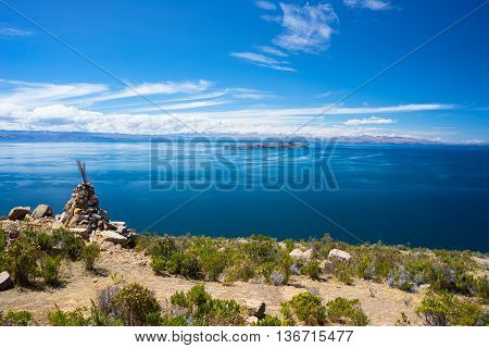 Island Of The Moon, Titicaca Lake, Bolivia