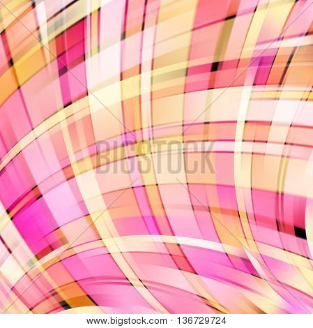 Abstract Technology Background Vector Wallpaper. Stock Vectors Illustration. Yellow, Pink Colors.