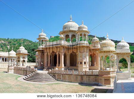 Memorial Grounds To Maharaja Sawai Mansingh Ii And Family, Jaipur, India.