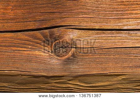 Wood Plank Knag Background. Aged Reclaimed Wood Texture.