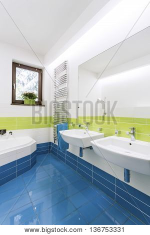 Bringing The Natural Light Into The Bathroom