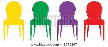 Bright chairs