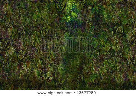 abstract background with elemental structures in earth colors.