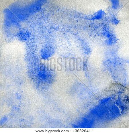 illustration depicting the vague texture background blue color. watercolor