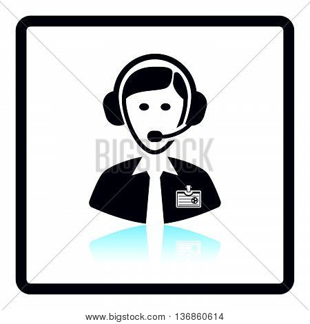 Icon Of Football Commentator