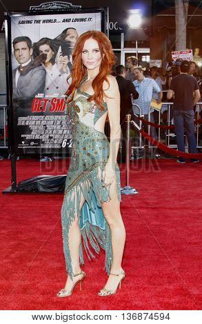 Phoebe Price at the World premiere of 'Get Smart' held at the Mann Village Theater in Westwood, USA on June 16, 2008.