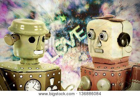 robots together