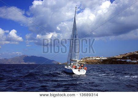Sailing In The Aegean