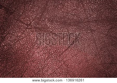 Dark Brown Leather for Concept and Idea Style of Fine Leather Crafting Handcrafts Work Space Handmade Leather handcrafted leather worker. Background Textured
