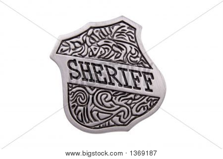 Vintage Toy Sheriffs Badge