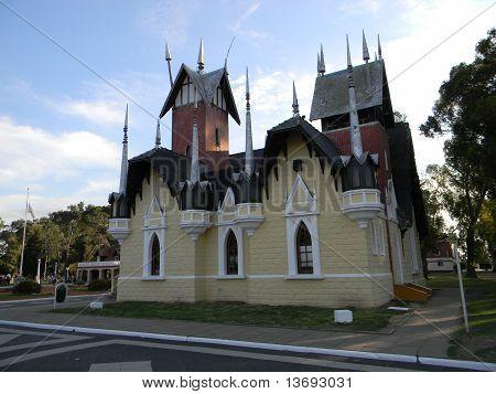 """Beautiful castle at """"Republica de los niños"""""""