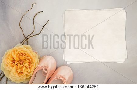 Styled mock up flatlay stock photography using a hand painted background copy space for your business social media or blog message or design perfect for lifestyle bloggers. Also great for using as an announcement of the birth of a baby girl, or a birthday