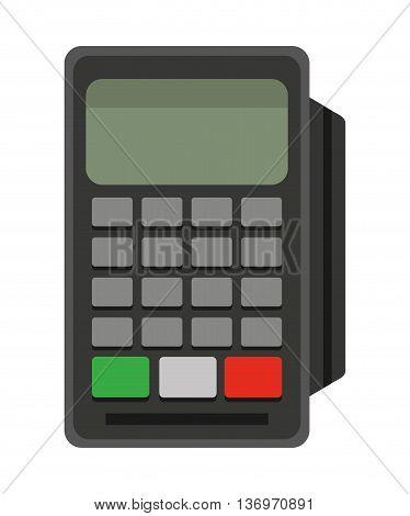 voucher machine isolated icon design, vector illustration  graphic