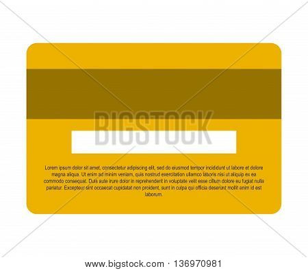 credit card isolated icon design, vector illustration  graphic