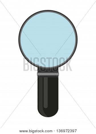 magnifying glass isolated icon design, vector illustration  graphic
