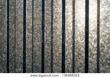 Aluminium Sheet Fencing In Vertical