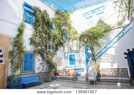 Sidi Bou Said Typical House
