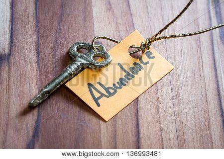 Secret Key For Abundance In Life