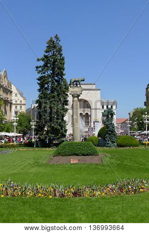 Timisoara, Romania Victory Square