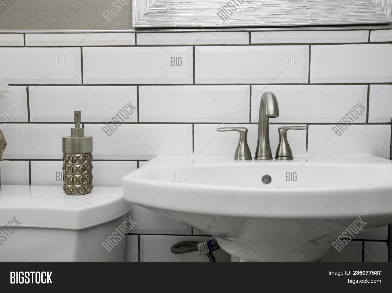 Bathroom Sink Shot Image & Photo (Free Trial) | Bigstock