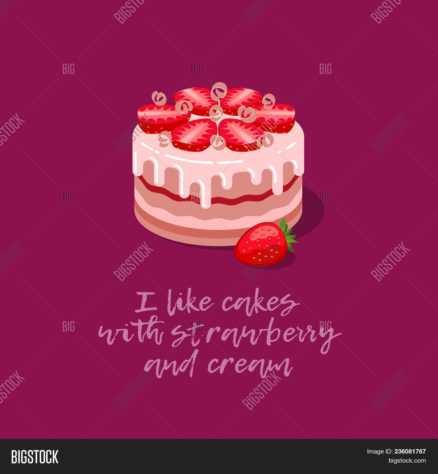 Cakes Illustration Vector Photo Free Trial Bigstock