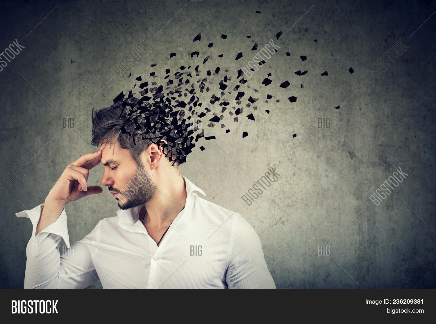 Memory Loss Due Image & Photo (Free Trial) | Bigstock