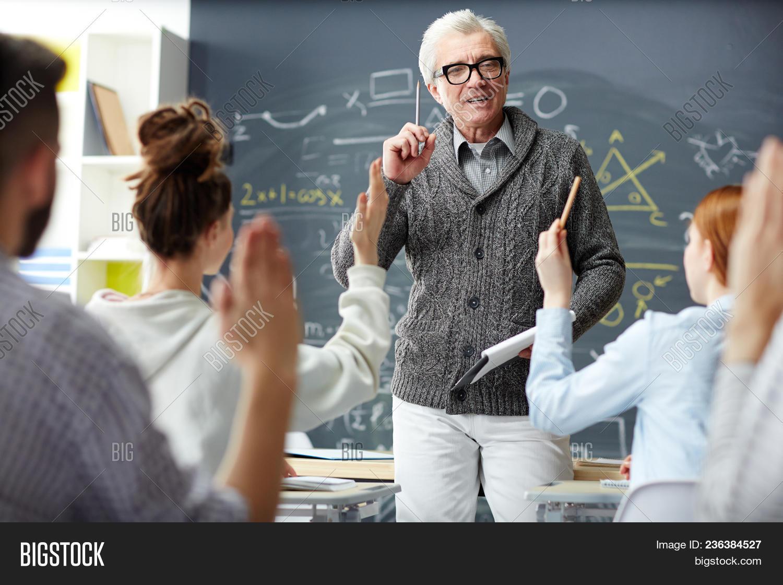 Mature teacher com