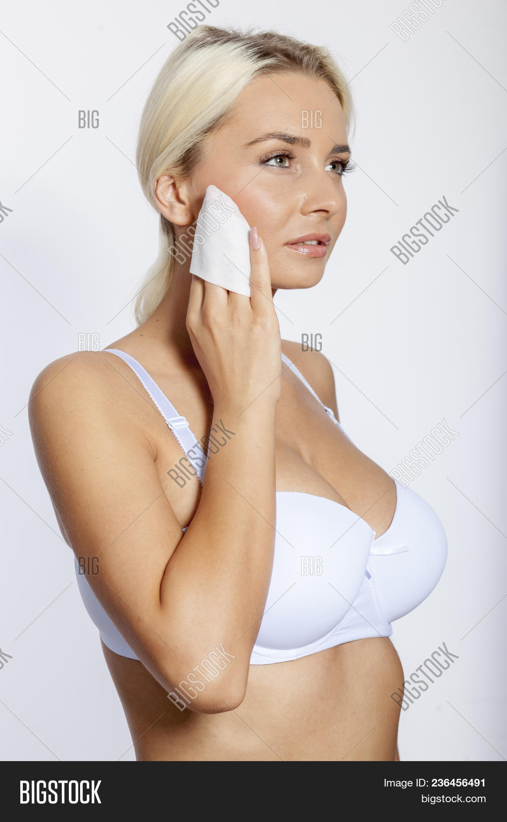 Young Woman Clean Face Image   Photo (Free Trial)  246275085