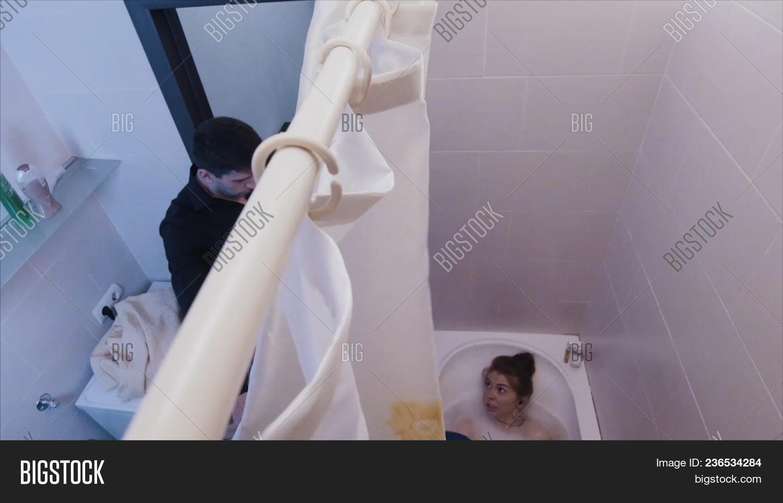 Whilst her boyfriend was in the bathroom pics 248