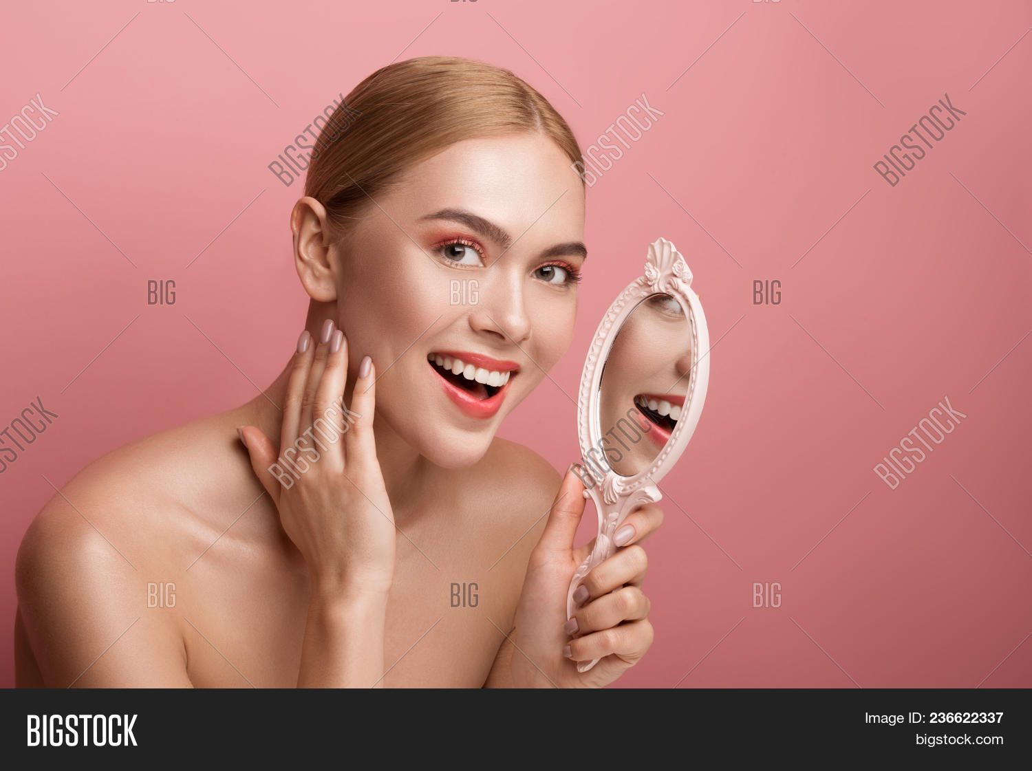 Joy Glass Naked portrait groomed naked image & photo (free trial) | bigstock