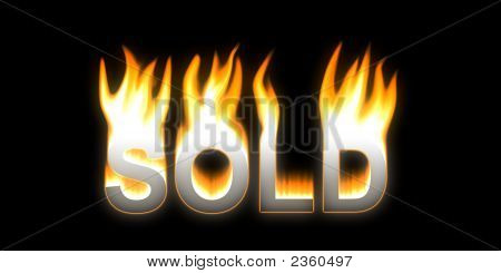 Sold! Flaming Sold.