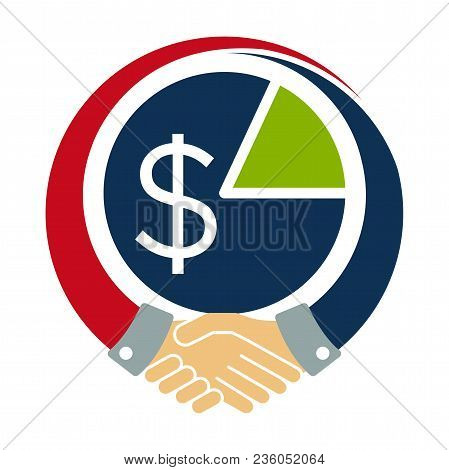 Icon Logo / Illustration For Cooperation Tax Agreement