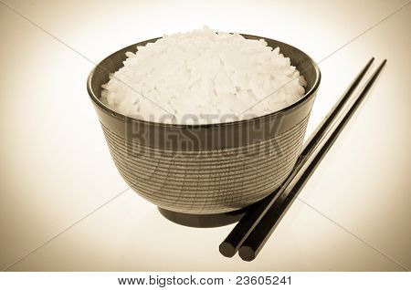 Rice Bowl Retro Look