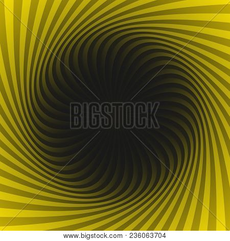 Abstract Geometrical Spiral Pattern Background - Vector Graphic