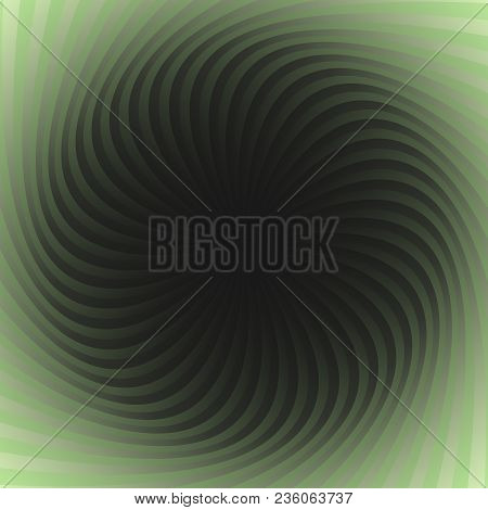Abstract Spiral Background - Vector Graphic From Spun Rays