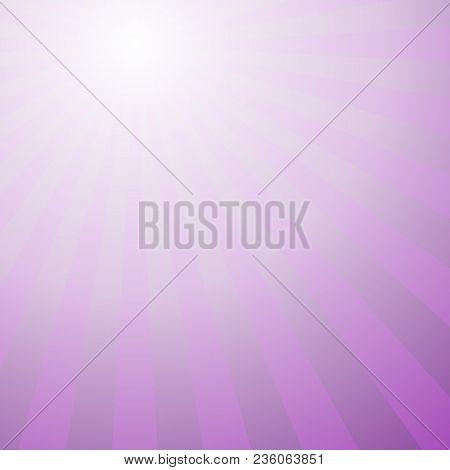 Retro Abstract Gradient Star Burst Background Design - Vector Illustration