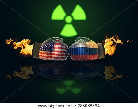 Crisis Between Usa And Russia Will Become A Direct Confrontation Concept